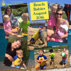 Beach Babies Collage 8-16 Small